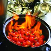 Flambierte Tomaten
