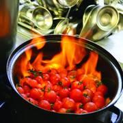 Kirschtomaten, flambiert